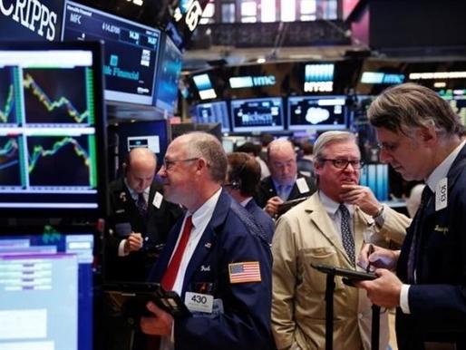Phố Wall tăng điểm nhờ cổ phiếu y tế, chờ báo cáo việc làm
