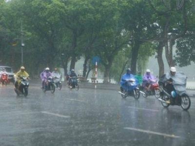 Hôm nay, dự báo Hà Nội có thể xảy ra tố lốc và mưa đá