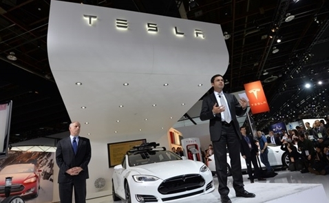 Xe điện Tesla đe dọa xe Đức