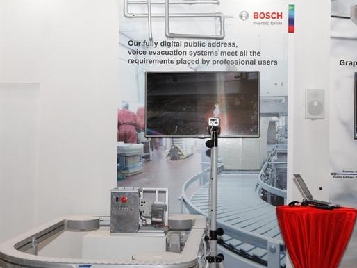 Bộ phận Hệ thống An ninh Bosch giới thiệu các giải pháp an ninh và an toàn