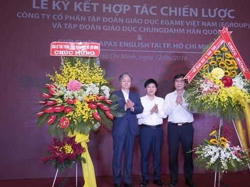 Tập đoàn giáo dục Hàn Quốc Chungdahm Learning đầu tư vào Việt Nam
