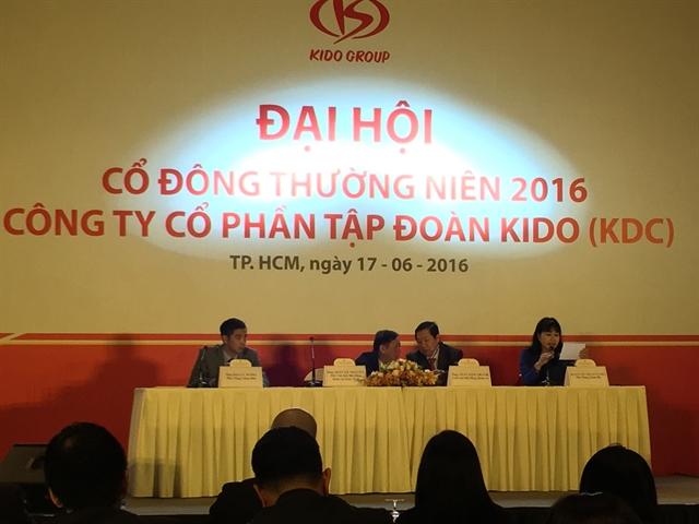 CEO Kido: Cổ phiếu KDC năm 2017 phải ở mức 40.000 đồng chứ không như bây giờ