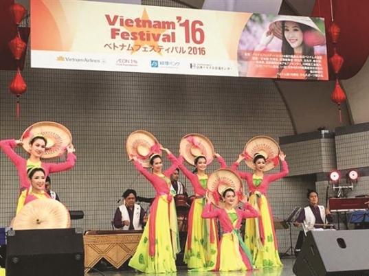 Vietnam Festival 2016 tại Nhật thu hút 200.000 người tham quan