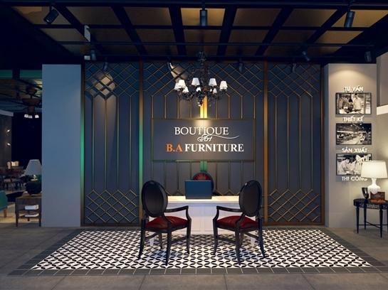 B.A Furniture - Boutique Art khai trương showroom mới tại Phú Mỹ Hưng