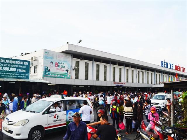 TPHCM: Xây bến xe miền Tây mới gần 20ha tại Bình Chánh