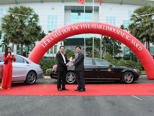 Five Star Limousine SG hợp tác với SASCO cho thuê xe cao cấp đưa đón khách tại sân bay Tân Sơn Nhất
