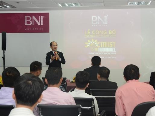 BNI Việt Nam tổ chức lễ công bố sự kiện Hội Ngộ Đỉnh Cao 2016