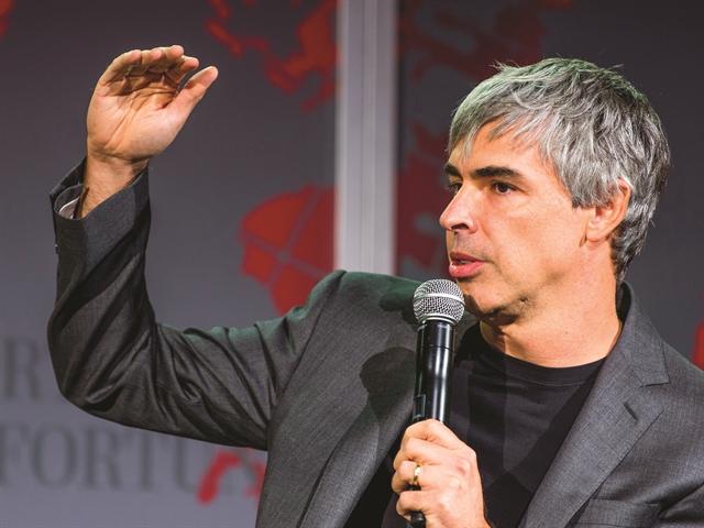 Giấc mơ xe bay của Larry Page