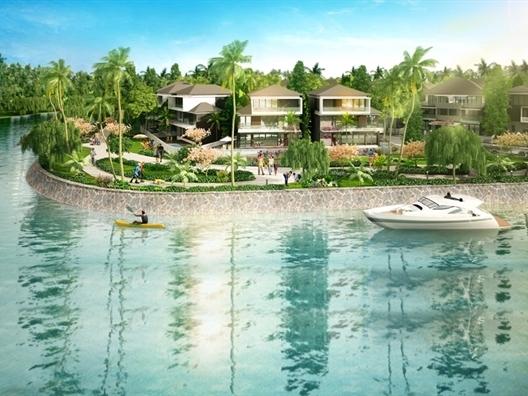 Mở bán đợt cuối biệt thự ven sông Dự án Jamona Home Resort