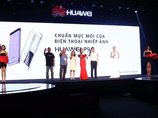 Huawei chính thức ra P9 chế tác cùng Leica ở Việt Nam