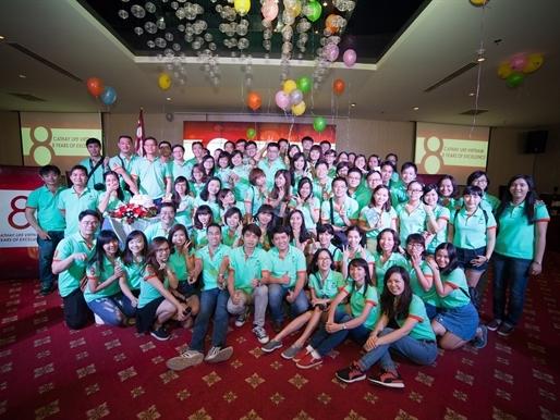 Công ty BHNT Cathay kỉ niệm 8 năm hoạt động tại Việt Nam