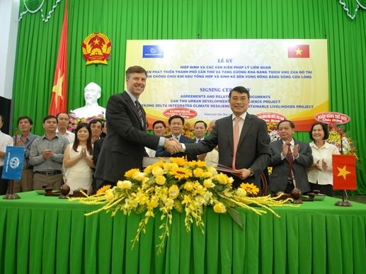 Vay World Bank 560 triệu USD phát triển đô thị đồng bằng sông Cửu Long