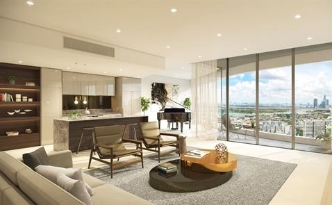 City Garden ra mắt Sky Residences – chuỗi căn hộ cao cấp nằm trên những tầng cao nhất của  tòa tháp Promenade