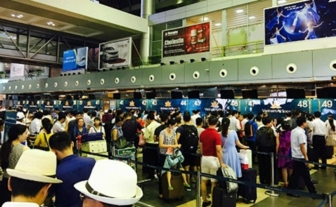 Hệ thống thông tin sân bay bị tấn công