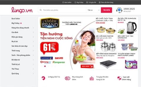 Trang thương mại điện tử Lingo.vn bất ngờ đóng cửa