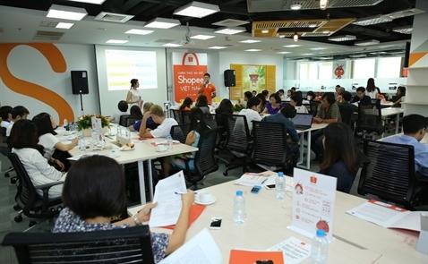 Sàn thương mại điện tử Shopee chính thức ra mắt thị trường Việt Nam