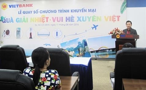VietBank tổ chức thành công lễ quay số CTKM
