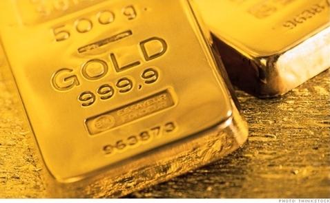 Giá vàng tăng nhẹ sau khi biên bản họp Fed được công bố