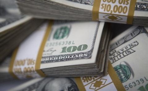 USD bắt đáy 8 tuần so với euro sau biên bản họp Fed