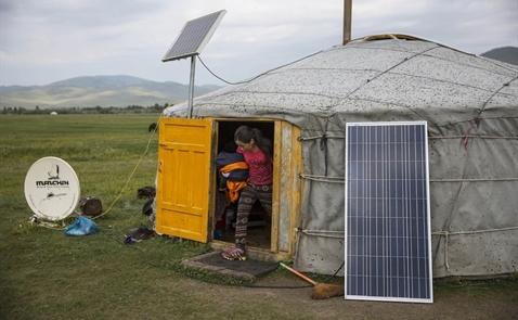 Nông thôn Mông Cổ chuyển mình với kỹ thuật số