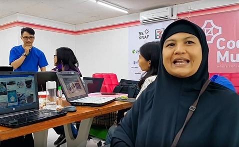 Indonesia: Dạy lập trình ngay trong cửa hàng tiện lợi