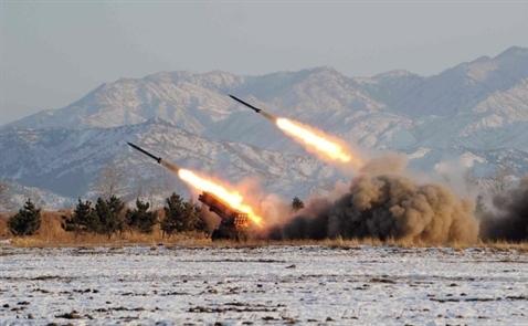 Triều Tiên phóng 3 tên lửa ra biển giữa lúc G20 nhóm họp