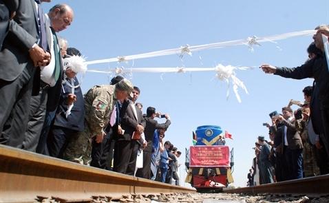Trung Quốc thông tuyến đường sắt với Afghanistan