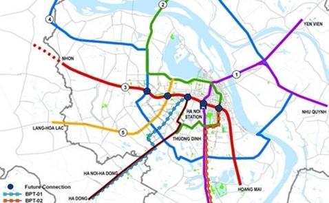 Hà Nội chốt vị trí xây ga metro ngầm khu vực hồ Gươm