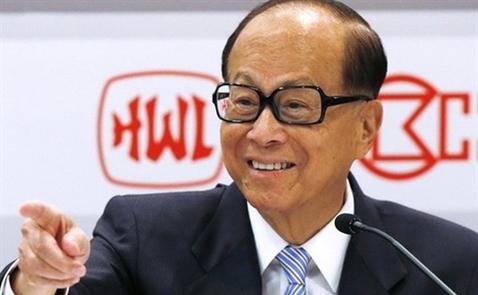 Tỷ phú Lý Gia Thành tái xuất trên thị trường bất động sản Hong Kong