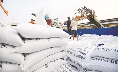 Gạo Việt thất thế trên thương trường quốc tế