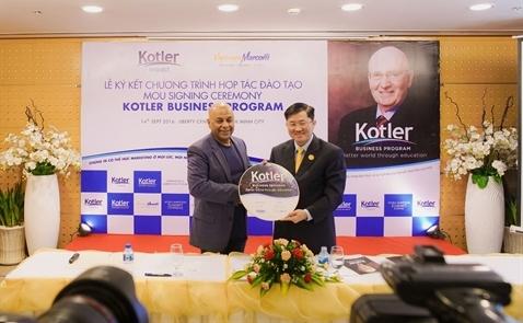 Vietnammarcom làm đối tác triển khai chương trình Kotler Business Program