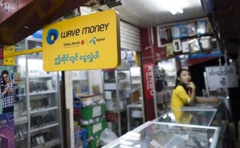 Người Myanmar bắt đầu thay ví tiền bằng điện thoại di động
