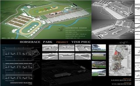 Đại gia Hàn Quốc quyết theo dự án trường đua ngựa 1,5 tỷ USD