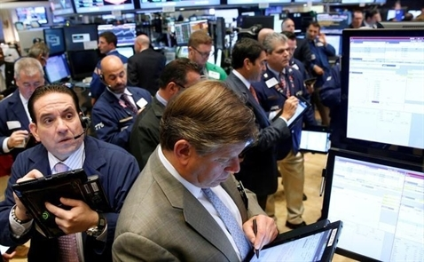 Chứng khoán Mỹ tăng điểm nhờ cổ phiếu Deutsche Bank, tài chính