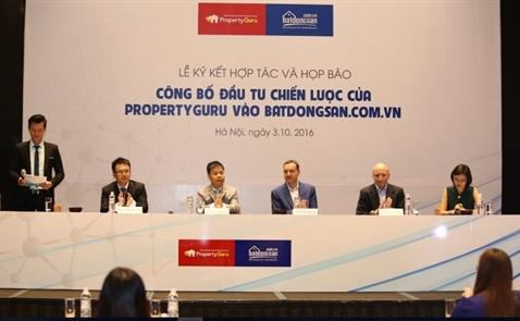 PropertyGuru thành cổ đông lớn của Batdongsan.com.vn