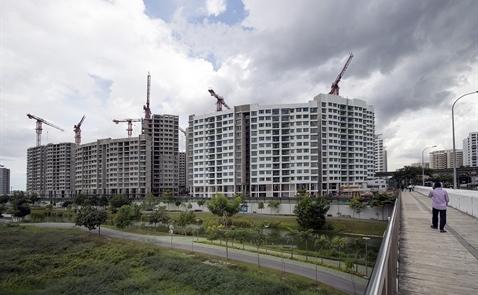 Giá nhà Singapore giảm mạnh nhất 7 năm qua