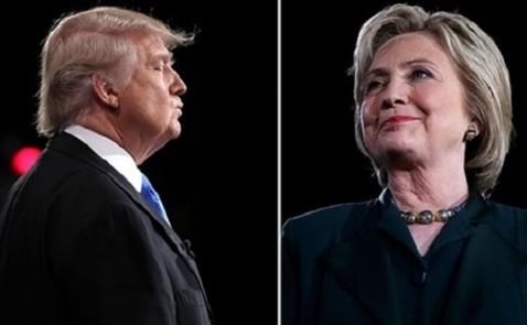 Trump - Clinton bắt tay sau yêu cầu nói điều tốt về nhau