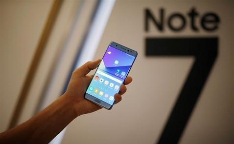 Gần 13.000 chiếc Samsung Note 7 sẽ được thu hồi tại Việt Nam