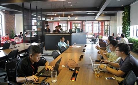 """Xu hướng mới: Văn phòng """"Co-working space"""""""
