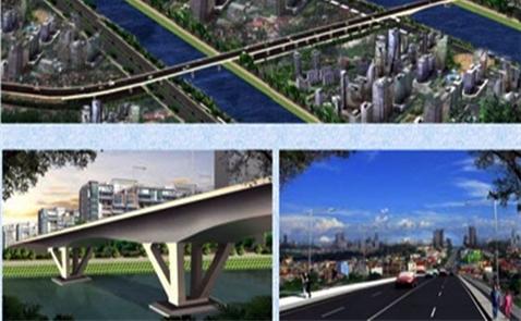 3.500 tỷ đồng làm cầu giảm ùn tắc khu Nam Sài Gòn