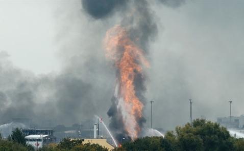Cháy nổ ở công ty hóa chất lớn nhất thế giới tại Đức