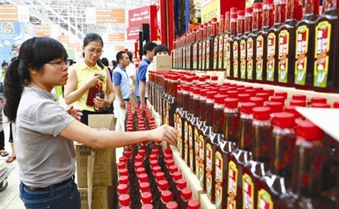 Ngành tiêu dùng nhanh chỉ tăng 4,3% trong quý III