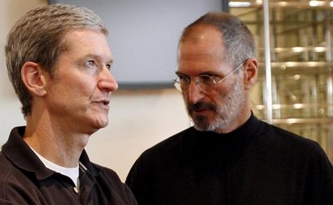 Vì sao Tim Cook sẽ không qua khỏi cái bóng của Steve Jobs?