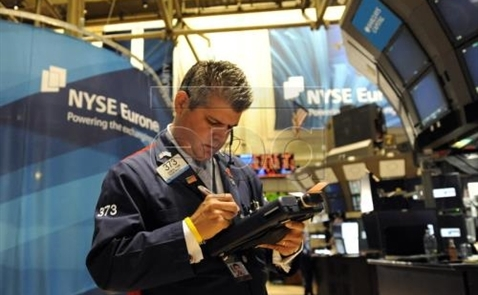 Chứng khoán Mỹ giảm điểm sau các khi báo cáo lợi nhuận được công bố