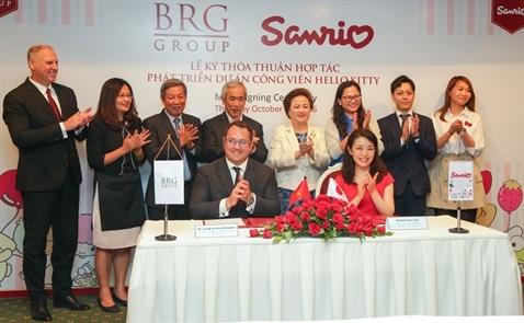Tập đoàn BRG sẽ mở công viên chủ đề tại Hà Nội năm 2018