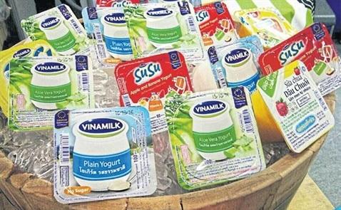 Vinamilk bước chân vào thị trường Thái Lan