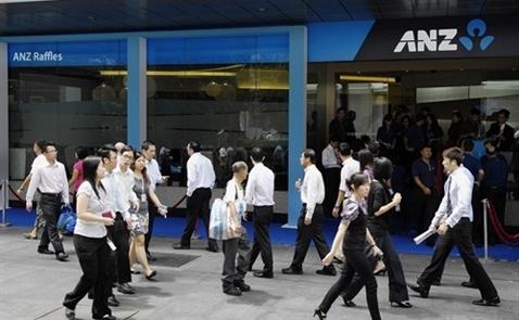 ANZ bán mảng kinh doanh tại nhiều nước châu Á, không bao gồm Việt Nam