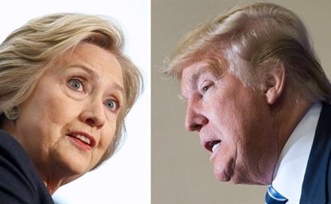 Trump lần đầu vượt Clinton trong khảo sát kể từ tháng 5