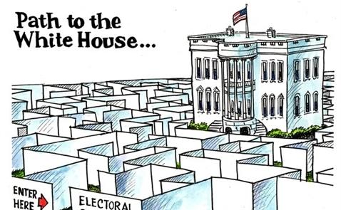 Đại cử tri mới trực tiếp bầu tổng thống Mỹ