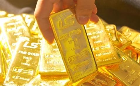 Giá vàng trong nước xuống đáy 1 tháng